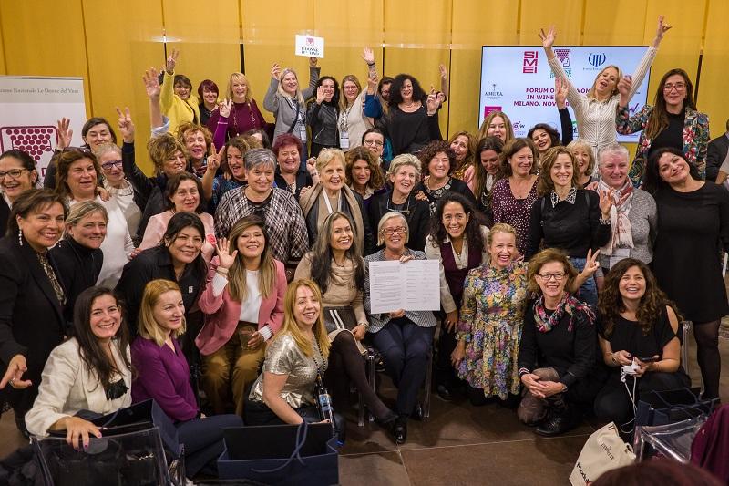 Donne del Vino del mondo unite per rilanciare enoturismo e wine business post Covid