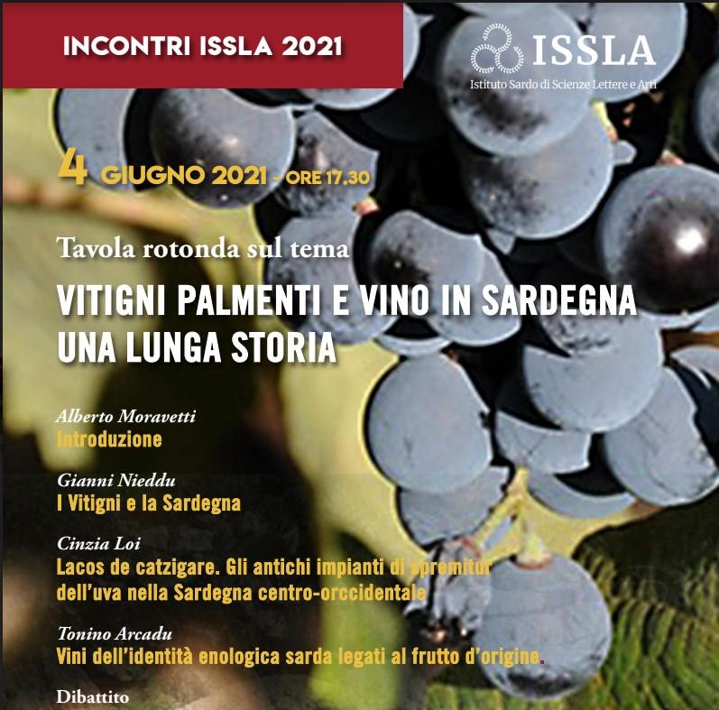 Vitigni palmenti e vino in Sardegna: una lunga storia