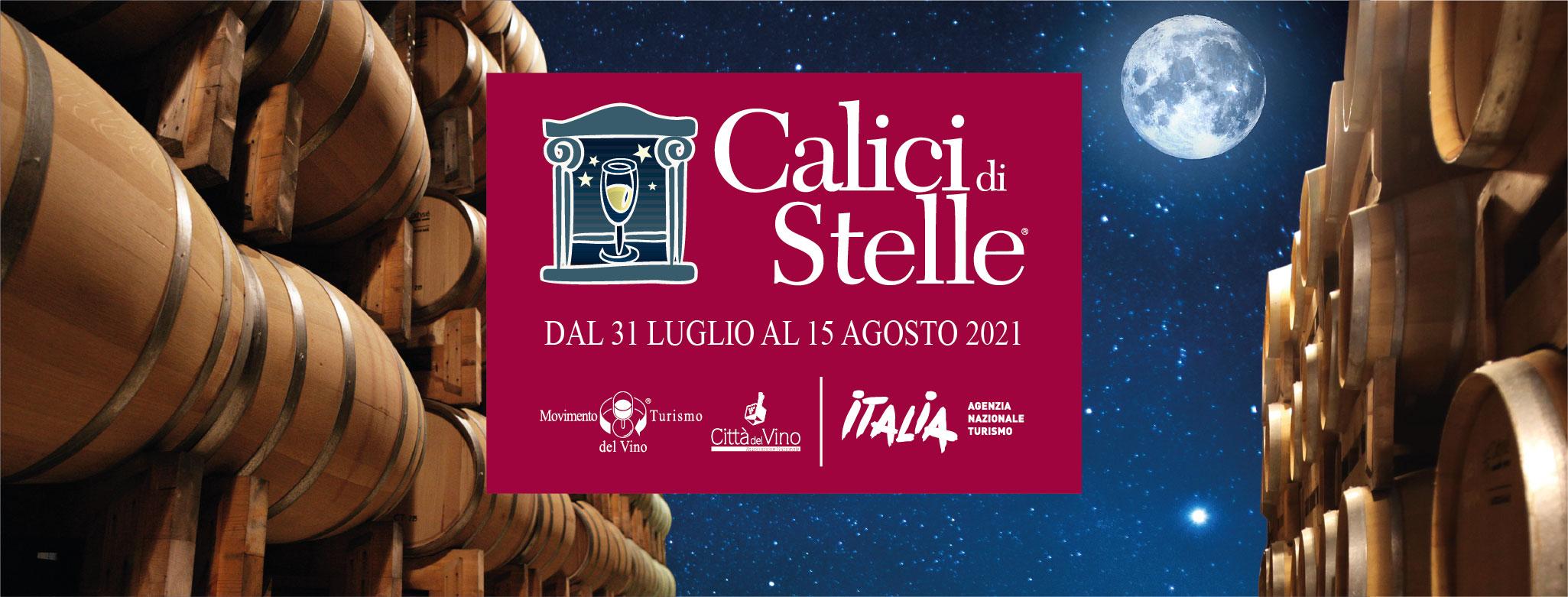Calici di Stelle 2021 nelle Città del Vino dell'Emilia Romagna
