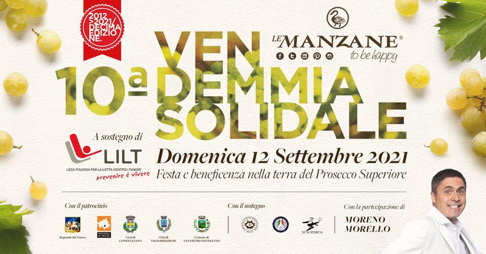 Le Manzane (TV), Moreno Morello presenta la vendemmia solidale a favore della LILT