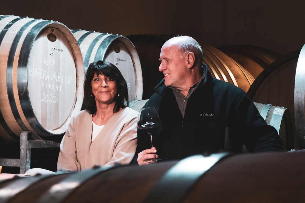 Amore per la campagna, l'ambiente e i grandi vini