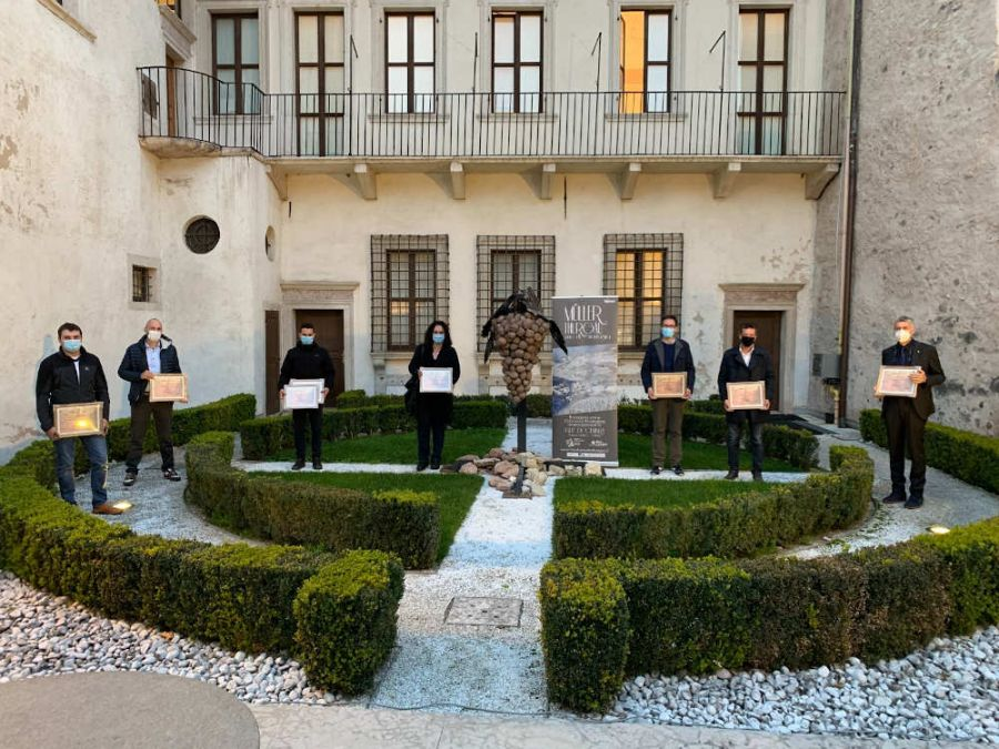 18 Medaglie d'Oro al concorso rassegna Müller Thurgau
