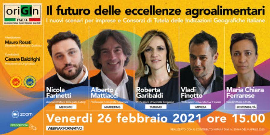 Il futuro delle eccellenze agroalimentari italiane