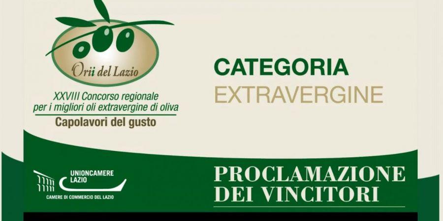 Orii del Lazio - Capolavori del Gusto, premiati i vincitori