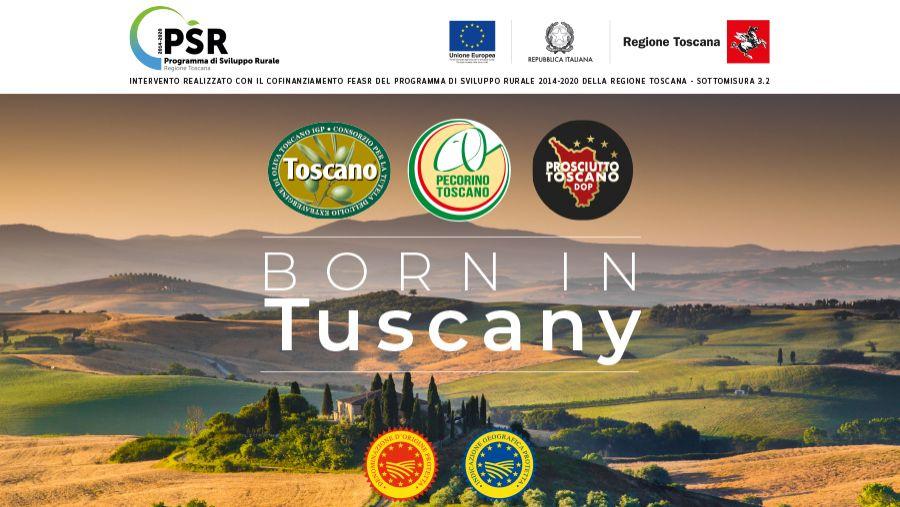 Via al progetto Born in Tuscany