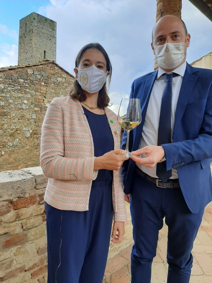 Vernaccia, San Gimignano guarda con fiducia alla ripartenza