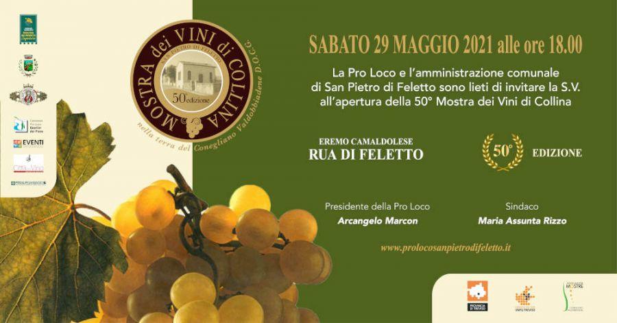 Mostra dei Vini di Collina e 1^ Rassegna Letteraria San Pietro di Feletto