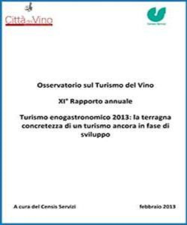 Osservatorio sul Turismo del Vino 2013